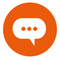 d9bc539ecb4092e391863126207c3b6a-cloud-chat-round-icon-by-vexels